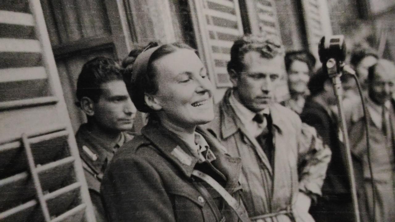 Anna Marengo – comizio 1 maggio 1945